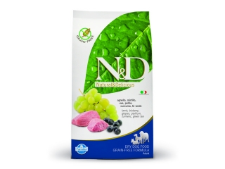 R N&D grain free dog ADULT lamb and blueberry – 2,5 kg