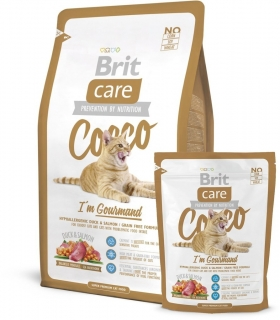 BRIT Care Cat Cocco I´am Gourmand 0,4 kg